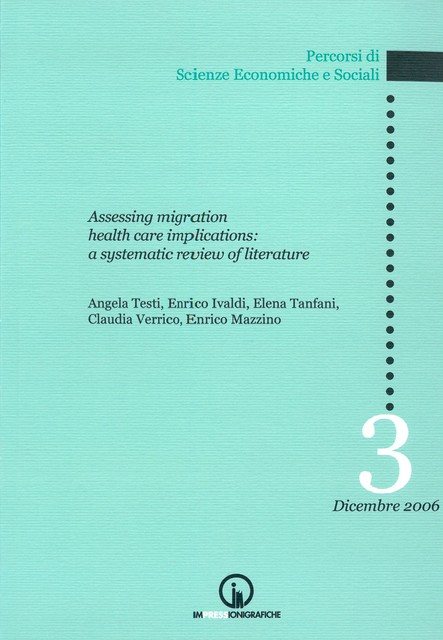 Book Cover: Assessing migration health care implications: a sistematic review of literature