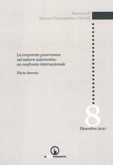 Book Cover: Corporate governance in automotive: an international comparison
