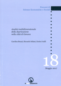 Book Cover: Multi-dimensional analysis of deprivation in the city of Genoa