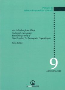 Book Cover: Air Pollution from Ships in Danish Harbours:  Feasibility Study of Cold-ironing Technology in Copenhagen