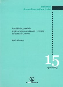 Book Cover: Feasibility and possible implementation of cold - ironing in the port of Genoa